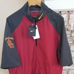 Nike USC Trojans short sleeve jacket